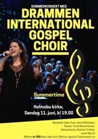 Sommerkonsert med DIGC i Holmsbu krk 110617 plakat 1