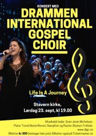Konsert DIGC i Stavern kirke 230917